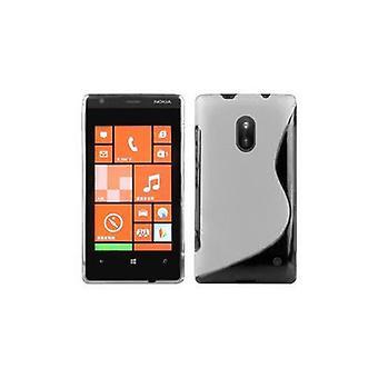 حالة كادورابو لنوكيا Lumia 620 حالة تغطية القضية - حالة الهاتف المحمول - حالة سيليكون حالة واقية الترا سليم لينة الغطاء الخلفي الوفير