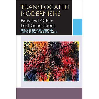 Translocated Modernisms: Parijs en andere verloren generaties (Canadese literatuur-collectie)