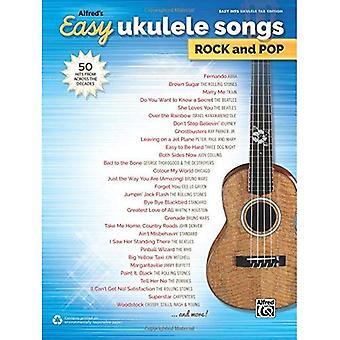 Ukulélé facile chansons de Alfred Rock & Pop: 50 Hits d'à travers les décennies (chansons faciles Rock & Pop)