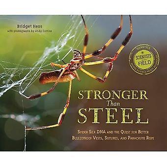 Starkare än stål: Spider Silk DNA och strävan efter bättre skottsäkra västar, suturer, och Parachute rep