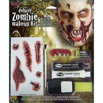 Zombie Deluxe Make-up-Set
