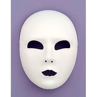 Masquerade Full Face Mask bianco