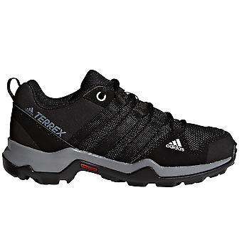 Adidas Terrex AX2R dzieci chłopców szlak turystyki pieszej trener buty czarny
