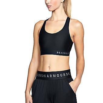 Onder Armour HeatGear medio Keyhole Womens Fitness sport-BH