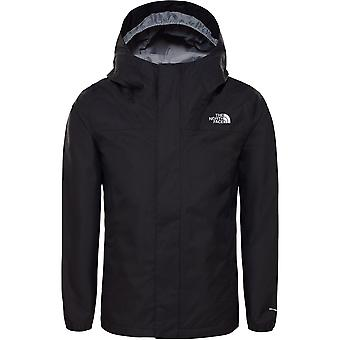 North Face Girl's Resolve Reflective Jacket - TNF Black