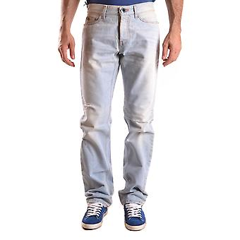 John Richmond Ezbc082042 Men's Light Blue Cotton Jeans
