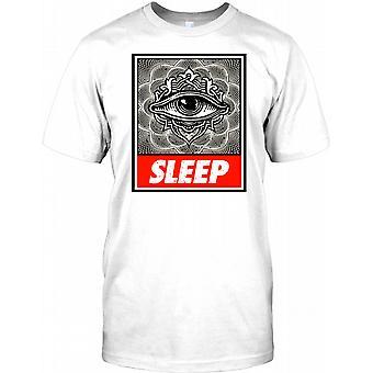 Schlafen Sie Illuminatii Verschwörung Kinder T Shirt
