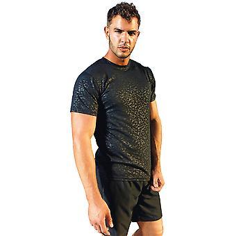 Regard extérieur Mens Burnout Lightweight Wicking T Shirt