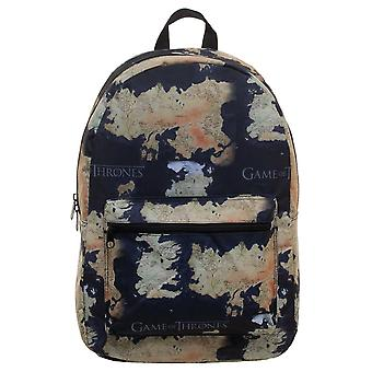 Game of Thrones Map Design Backpack