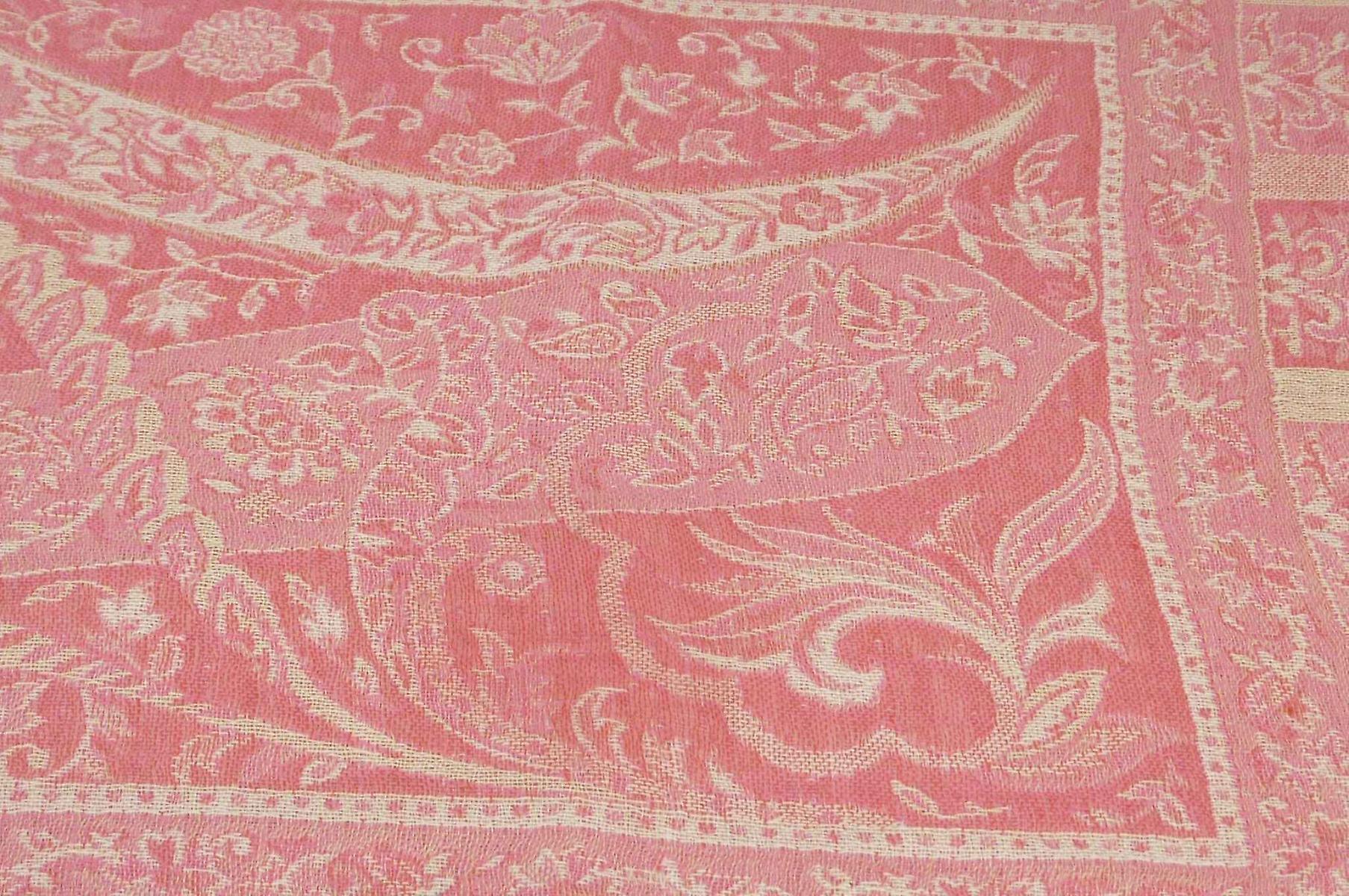 Muffler Scarf 4843 in Fine Pashmina Wool Heritage Range by Pashmina & Silk