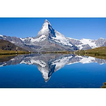 Tapet väggmålning Matterhorn
