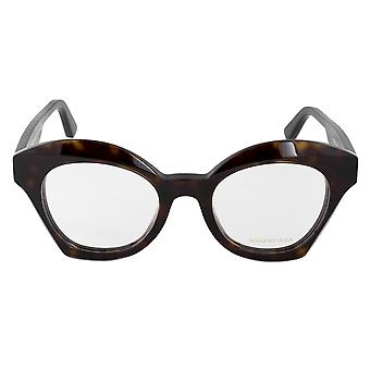 Balenciaga BA 5082 052 49 supradimensionate ochi cat eyeglasses rame