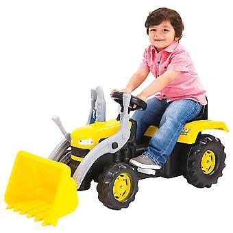 Dolu Kid ' s dzieci jeździć na żółtym Digger z ładowarka łopata wiek 3 + koparka