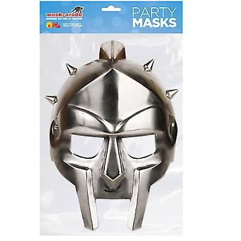 Gladiator Helmet Historical Single 2D Card Party Fancy Dress Mask