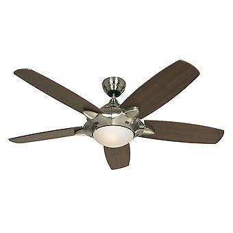 """Ventilatore a soffitto Mercury 132cm / 52"""" con luce e telecomando"""