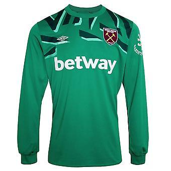 2019-2020 West Ham Home Goalkeeper Shirt