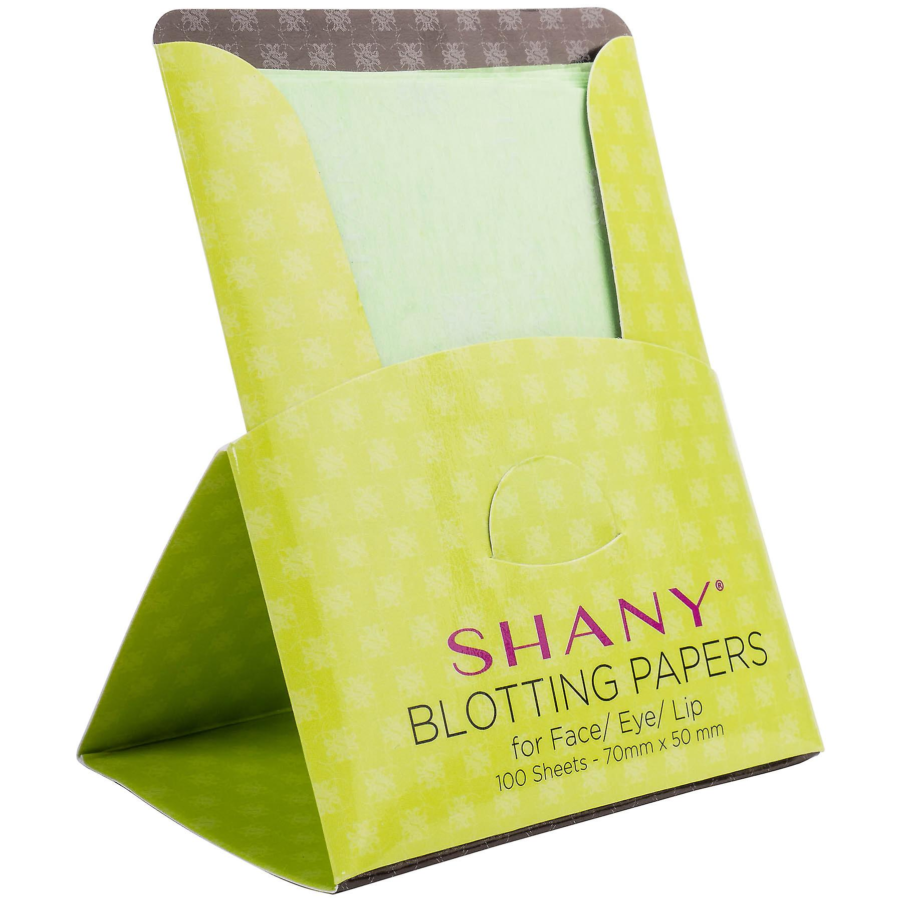 SHANY Makeup Blotting Papers: 4 Packs of 100 Oil Absorbing Paper Sheets for Face - 400 Sheets
