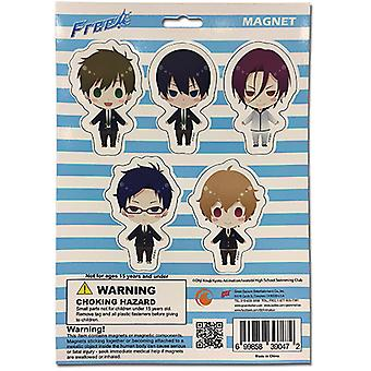 Magnet - Free! - Chibi SD Collection Games Toys Anime Licensed ge39047