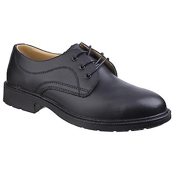 Amblers Safety Mens FS45 Safety Shoe Zwart