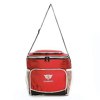 Slimbridge Biggar isoliert Picknick-Tasche, rot