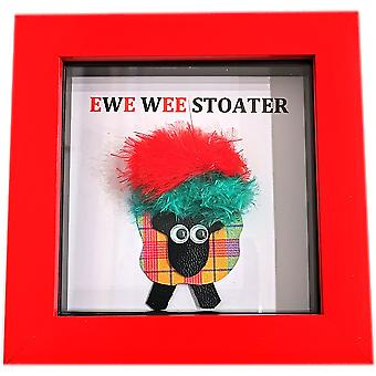 Ewe Wee Stoater Red & Green Sheep by Wee Bee Gifts