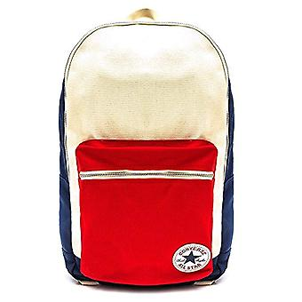 Converse Core Plus Canvas Casual Backpack - 46 cm - Ships/Natural/Red