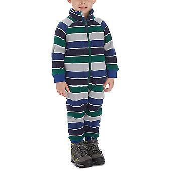 New Kozi Kidz Boy's Microfleece Jumpsuit Blue