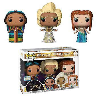 Mrs Who Mrs Which & Mrs Whatsit US Exclusive Pop! Vinyl 3 Pk