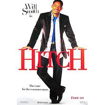 Hitch (dubbelzijdig vooruit) originele Cinema poster