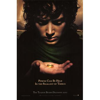 The Lord Of The Rings Fellowship Of The Ring Poster Double Sided Advance (Style B) (2001) Original Cinema Poster