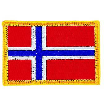 Patch Patch brode flag norsk flag termo Collant Insigne Blason