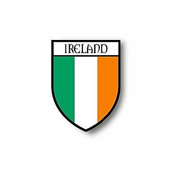 Sticker Sticker Motorcycle Car Blason City Flag Ireland Irish
