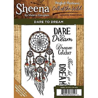 Sheena Douglass Perfect Partners Call of the Wild A6 Rubber Stamp Set - Dare to Dream
