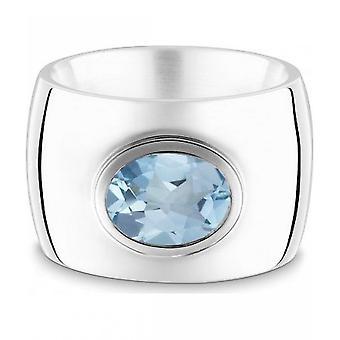 QUINN-ring-kvinnor-silver 925-ädelsten-blå topas-bredd 56-21039658