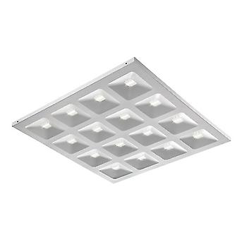 Saxby Lighting Deyes LED integrado 1 luz empotrada luz mate blanco, claro 80086