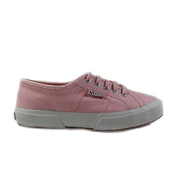 Superga JCOT Classic Canvas Pink Unisex Lace Up Shoes