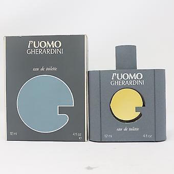 L'uomo by Gherardini Eau De Toilette 4oz/112ml Spray Vinatage