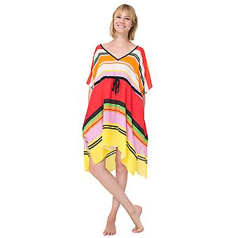 Desigual Women's Elvi Striped Kaftan Dress