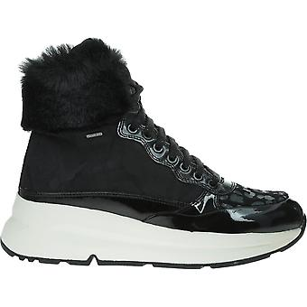 Geox Respira Backsie D94FPA0FUHHC9999Schwarz universelle Winter Damen Schuhe