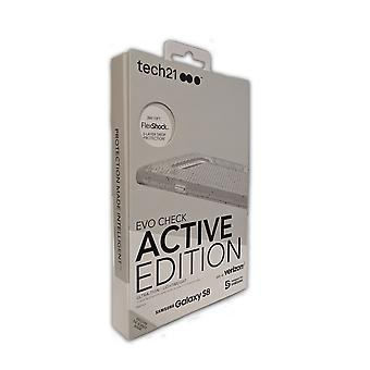 Tech21 Evo Check Active Edition Case for Samsung Galaxy S8 - Clear/Gray