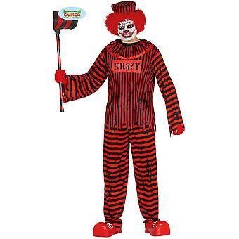 Children's costumes  Psycho horror clown costume