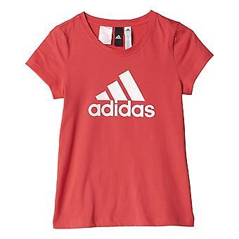 Adidas Girls Essentials Logo Tee