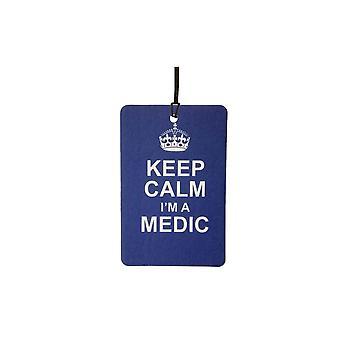 Keep Calm I'm A Medic Car Air Freshener