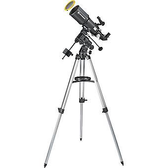 BRESSER Polaris 102/460 EQ3 Teleskop mit Sonnenfilter