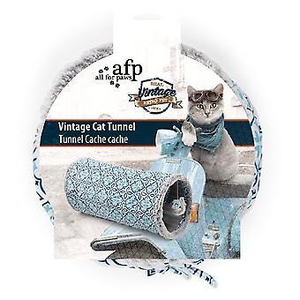 AFP Tuneles Gatos Vintage Pet (Cats , Toys , Tunnels)