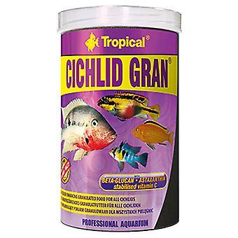 Trooppinen rakeinen Cichlid väri 100 Ml (kala, ruoka, lämmintä vettä)