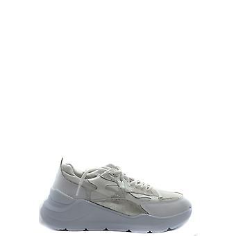 D.a.t.e. Ezbc177024 Women's White Leather Sneakers