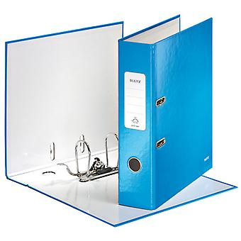Leitz Blue Lever Arch File Laminated WOW 180° A4 80mm