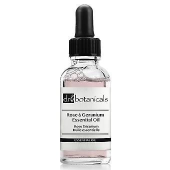 Dr. botanicals rose and geranium essential oil