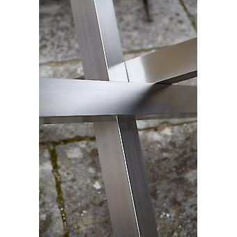 Angel cerdá - okrągły stół bodhi - szkło/ stal - 4 rozmiary
